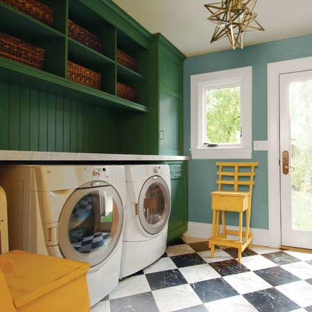 Laundry Room Makeover - The Inspired Nest